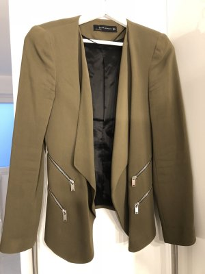 Zara Woman Blazer largo caqui