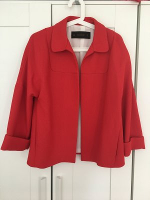 Zara Blazer long rouge polyester