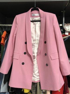 Zara Blazer stile Boyfriend rosa