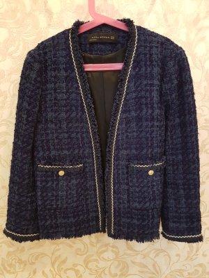 Zara Blazer corto azul