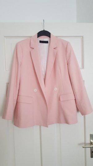 Zara Blazer L 40 Rosa leicht oversize