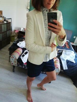 Zara Blazer blanc cassé-crème