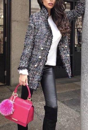Zara Blazer Mantel Tweed Neu