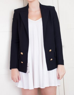 Zara Boyfriend Blazer multicolored