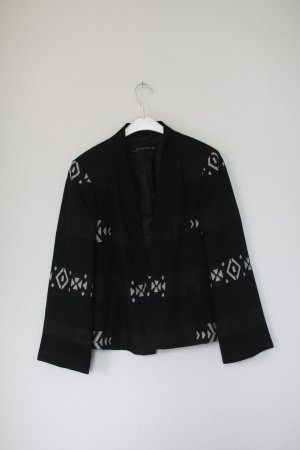 Zara Short Blazer black-dark blue