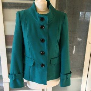 Zara Wool Blazer cadet blue wool