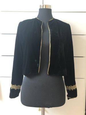 Zara Basic Korte blazer zwart