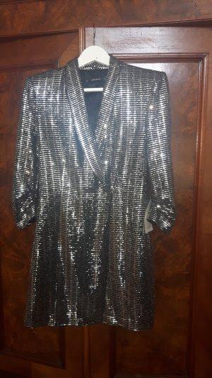 Zara Blazerkleid Metallic - 2495/560/808