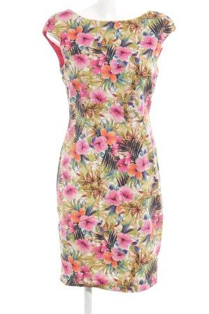 Zara Bleistiftkleid Blumenmuster extravaganter Stil