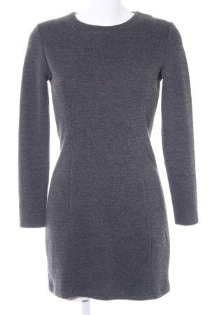 Zara Bleistiftkleid dunkelgrau Business-Look