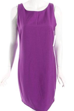 Zara Robe crayon violet style festif