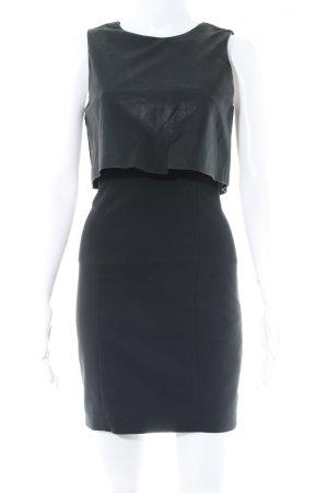 Zara Bleistiftkleid schwarz Elegant