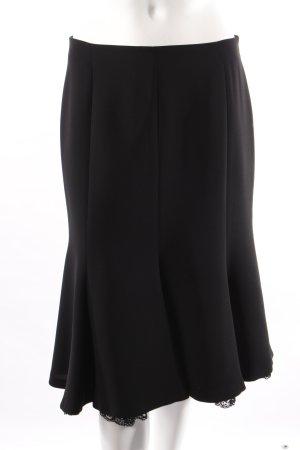 Zara Falda de tubo negro