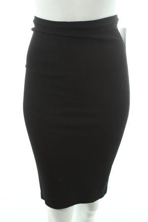 Zara Bleistiftrock schwarz schlichter Stil