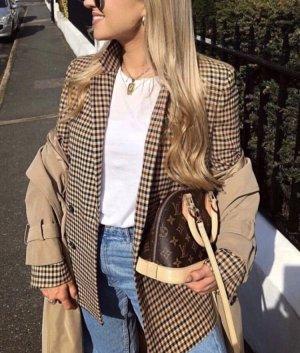 Zara Blogger Blazer Beige S