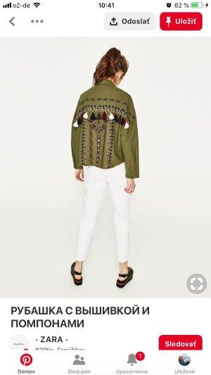 Zara Denim Shirt multicolored