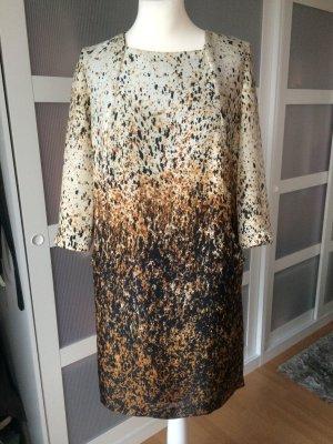 Zara Blogger Kleid * L 40/42 * gesprenkelt * tolle Farben
