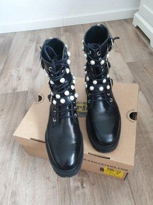 Zara Bottines à lacets noir