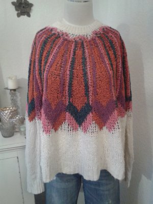 Zara Oversized Sweater multicolored