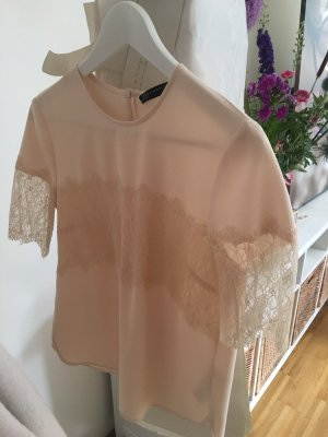 Zara blouse with lace