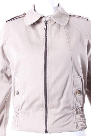 Zara Blouson beige mit seitlichen Taschen