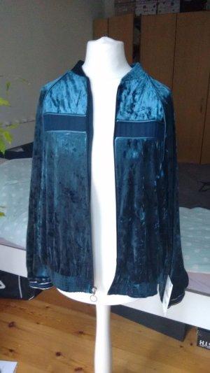 Zara Blusón petróleo-azul