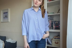 Zara Blouse-chemisier multicolore