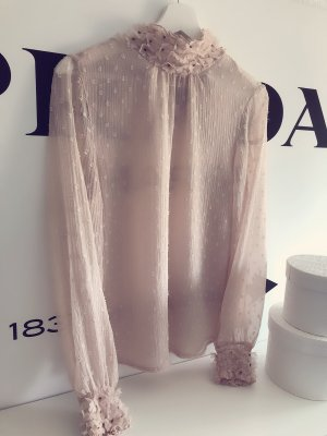 Zara Basic Top dusky pink