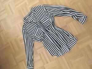 Zara Bluse Black& white