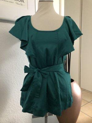 Zara Camisa de mujer petróleo