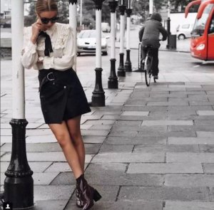 zara Bluse Blogger