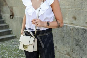 Zara Sleeveless Blouse white