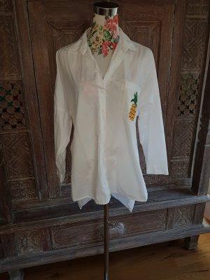 Zara Blouse Dress white