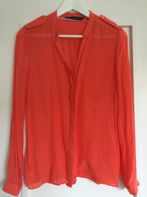 ZARA Bluse *Frühlingsfarbe orange*