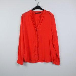 Zara Bluse Gr. L orange (19/04/239)
