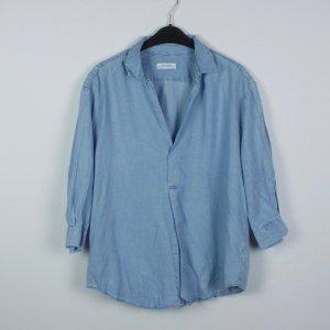Zara Bluse Gr. M blau (19/04/324)
