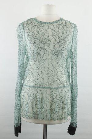 Zara Bluse Gr. XS grün Spitze