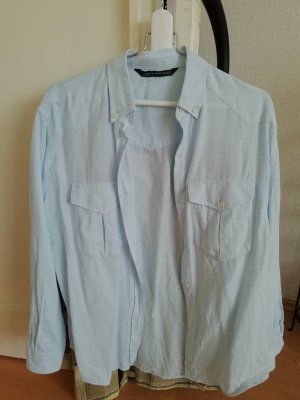 Zara Blouse baby blue