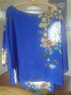Zara Bluse im Asia Style Gr. M