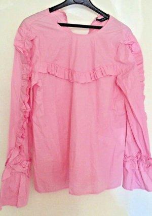 ZARA Bluse in rosa/pink Gr S