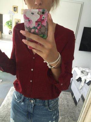 Zara Blouse rouge carmin