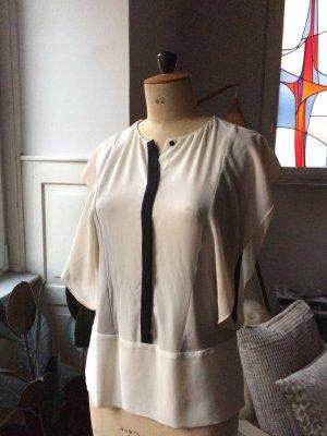 Zara Basic Mouwloze blouse veelkleurig Polyester