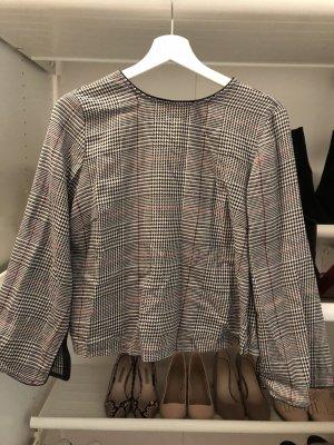 Zara Geruite blouse veelkleurig