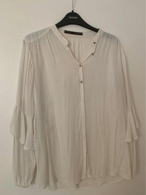 Zara Carmen Shirt white-cream