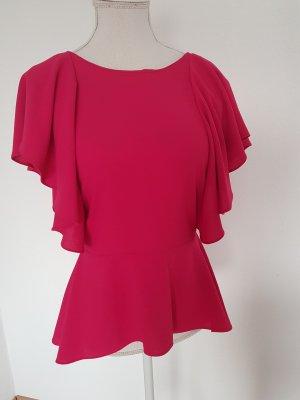 Zara Bluse Magenta Rot