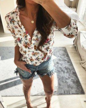 Zara Hemdblouse wit