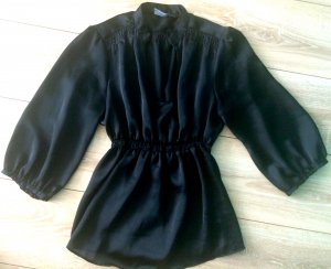 Zara - Bluse mit Empirewaist und Flatterärmeln
