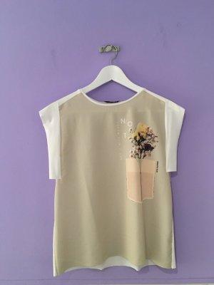 ZARA Bluse mit Flowerprint