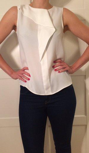 Zara Bluse mit geknöpftem Rücken