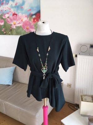 Zara Woman Kimono blouse bos Groen